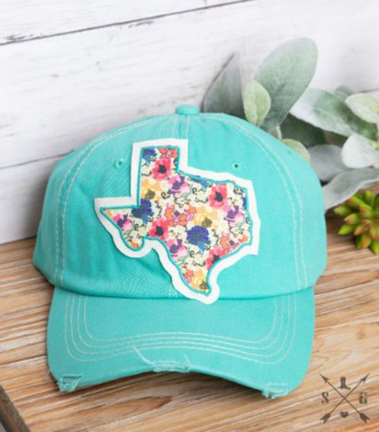 Floral Texas Hat