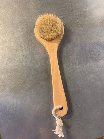 Natural Bristle Bath Brush