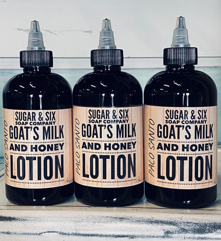 Palo Santo Goats Milk and Honey Lotion