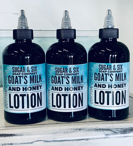 Cotton Candy Goat's Milk & Honey Lotion
