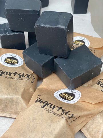 Charcoal Face Soap Bar
