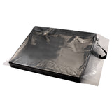 "16""x40"" CLEAR LAYFLAT POLY BAG 1.5Mil"