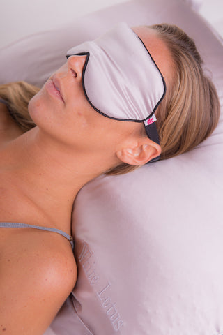 silk eye mask and pillowcase set