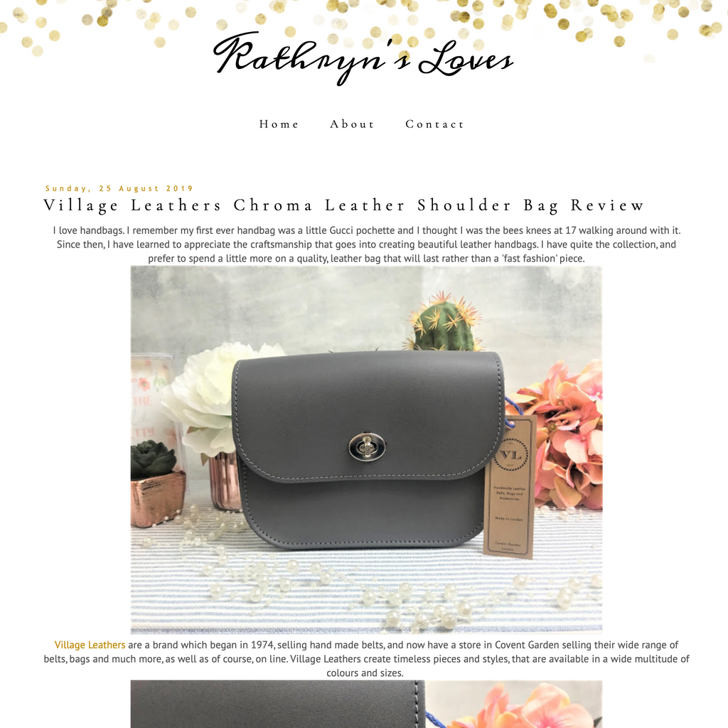 Kathryn's Loves - Bag Review