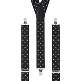 Polkadot Black Braces