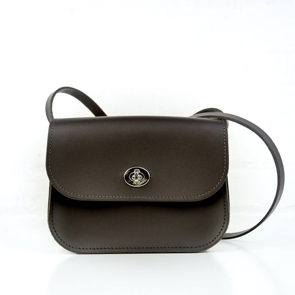 Brown Leather Shoulder Bag - Chroma
