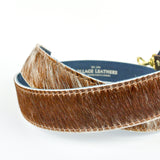 Natural Tan Speckle Hair on Hide Replacement Bag Strap - Roam