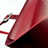 Leather Belt Bag Chroma Red