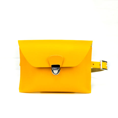 Leather Belt Bag Chroma Yellow