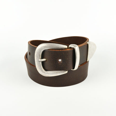 "Brown 1 1/2"" 3 Part Buckle"