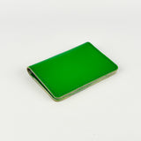Green Leather Card Holder - Chroma