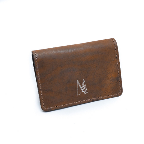 Dark Ranger Leather Card Holder - Chroma