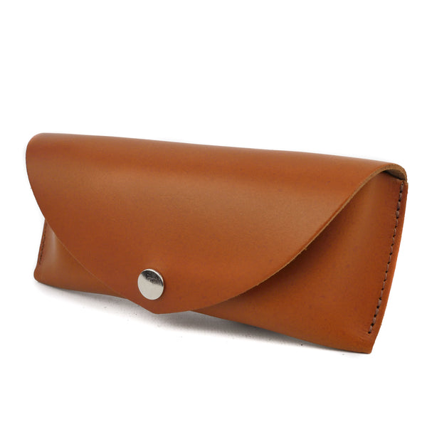 Tan Leather Sunglasses Case - Chroma