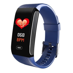Color Screen Blood Pressure Heart Rate Monitor Remote Camera IP67 Waterproof Watch