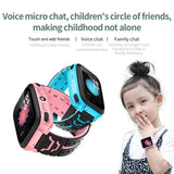 DS38  Bluetooth Smart Watch Kid Tracker Touch Screen SIM SOS Call Photo Watch