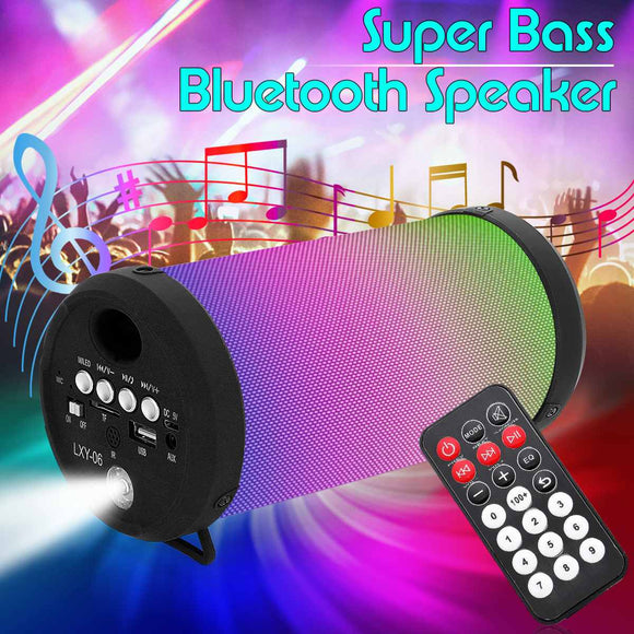 Multi-Function Outdoor Flashlight Portable wireless bluetooth Speaker