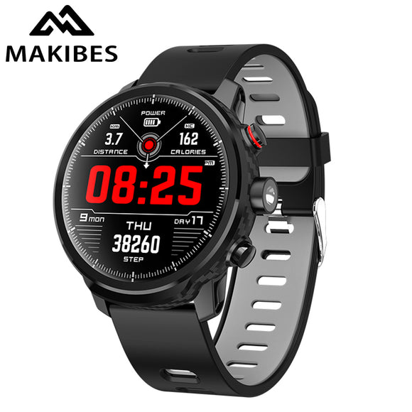 Makibes L5 Smart Watches 100 days Standby IP68 waterproof Weather Smartwatch