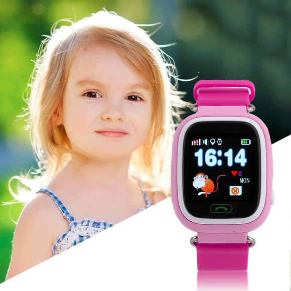 Children Touch Screen Smart Watches GPS Positioning Phone Call WiFi Anti Fall Off Waterproof Wristwatch