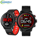 L5 Heart Rate Monitor Fitness Tracker Reminder Smartwatch