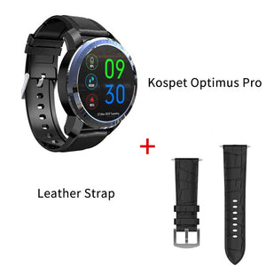 KOSPET Optimus Pro 3GB 32GB 800mAh Battery Dual Systems 4G Smart Watch Phone waterproof 8.0MP