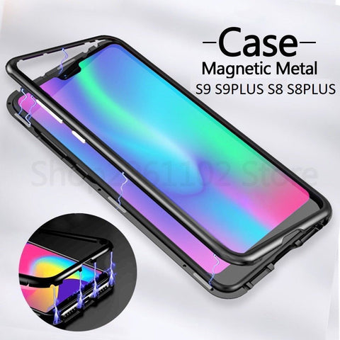 Magnetic Adsorption Mobile Phone Case