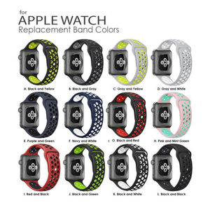 Smartwatch Bands for Apple Watch Bands 42mm 38mm  Nike+ Sport Edition Men & Women