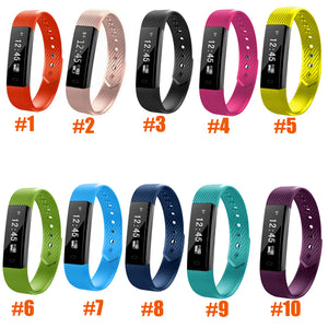 ID115 Fitness Bracelet with Heart Rate Waterproof Wrist Watch