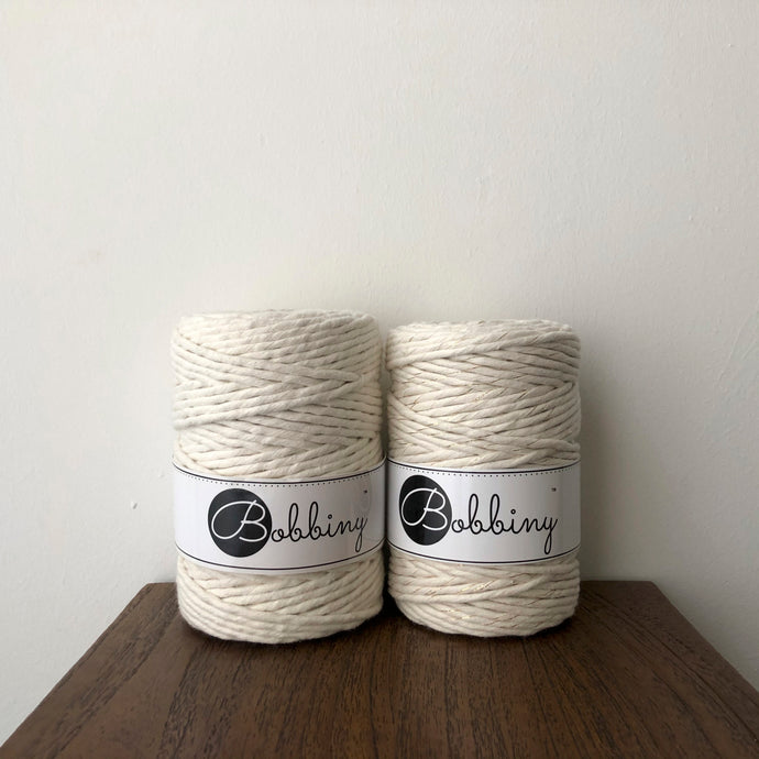 Bobbiny Cotton Macrame Cords (5mm)