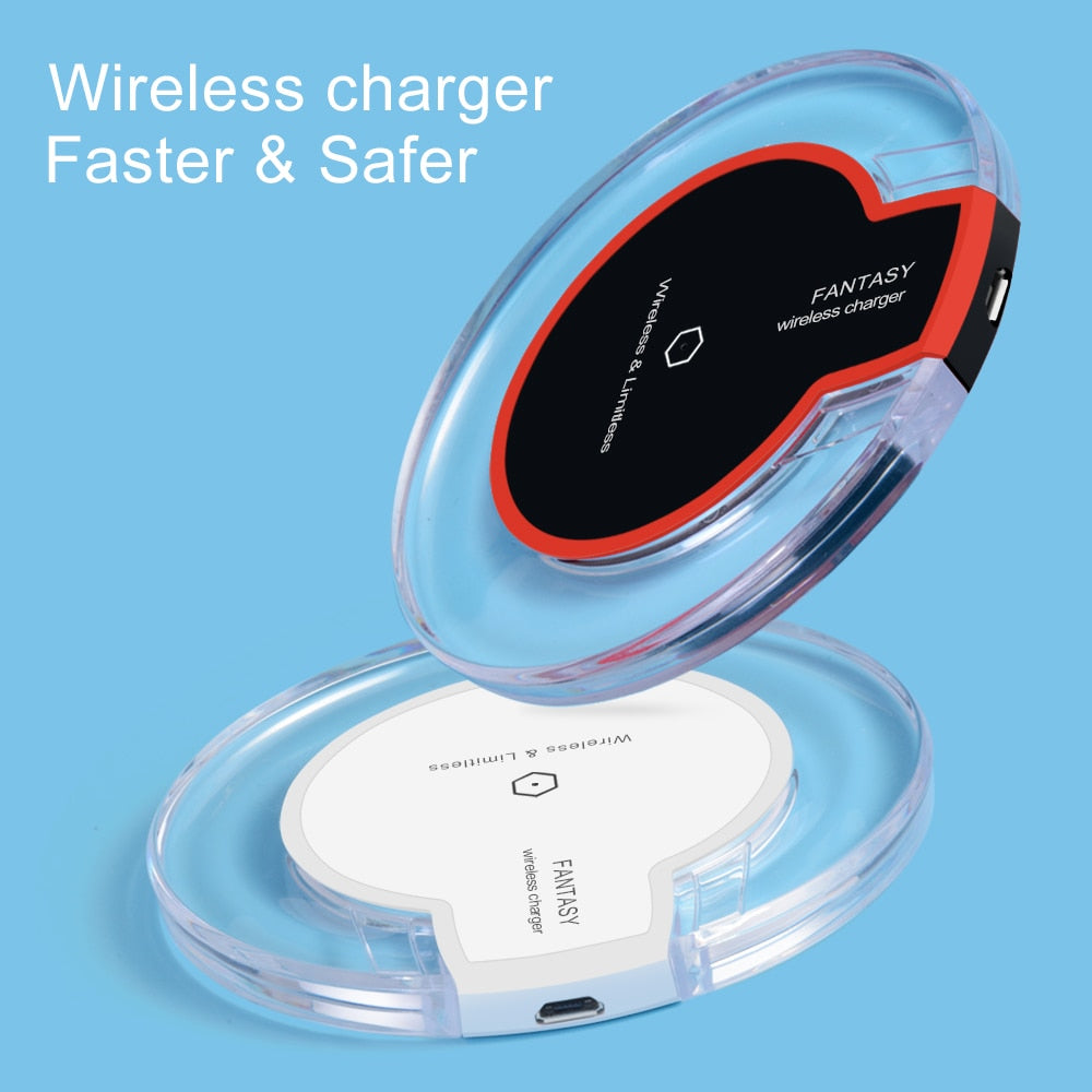 Wireless Charger Ultra Thin Led Qi Wireless