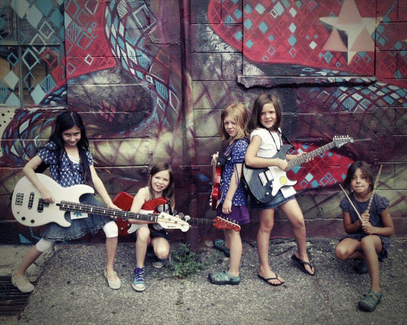 TERM ONE -  Beginner Group Guitar Tuition  6-8 yrs old - Thursday 4.00pm