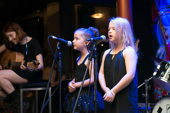 TERM FOUR - Beginner Group Vocal Tuition  7- 12 yrs old - Monday 4.00pm