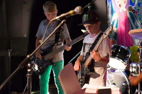 TERM ONE -  Kids Can Rock 8-11 years old - Tuesday 5.00pm