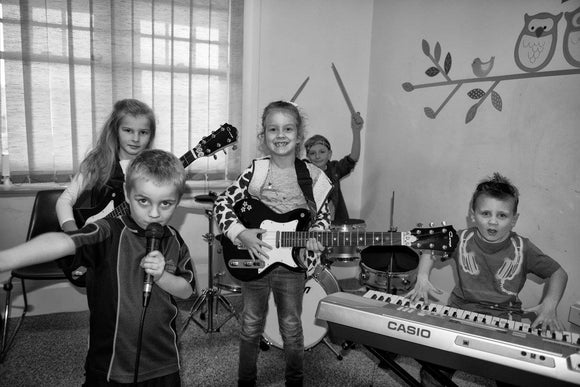 TERM ONE -  Kids Can Rock 4-7 years old - Wednesday 4.00pm