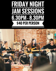 Junior Jam Session Friday - 25th October 2019 -  6.30pm - 8.30pm