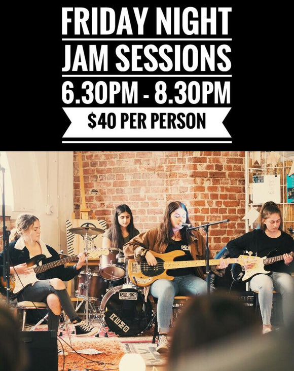 Junior Jam Session Friday - 28th of February 2020 -  6.30pm - 8.30pm