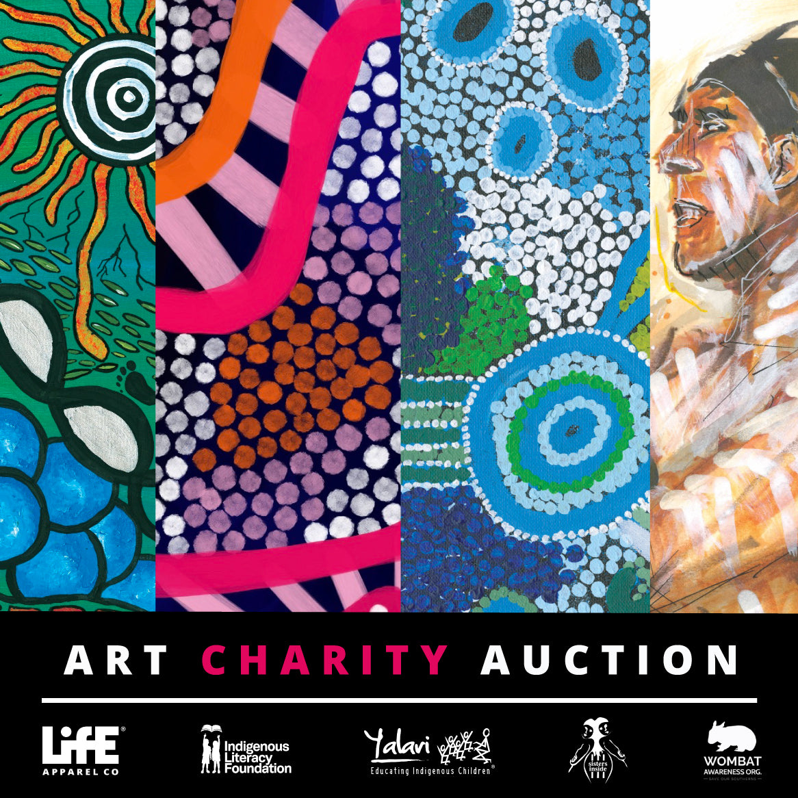 Art Charity Auction Poster