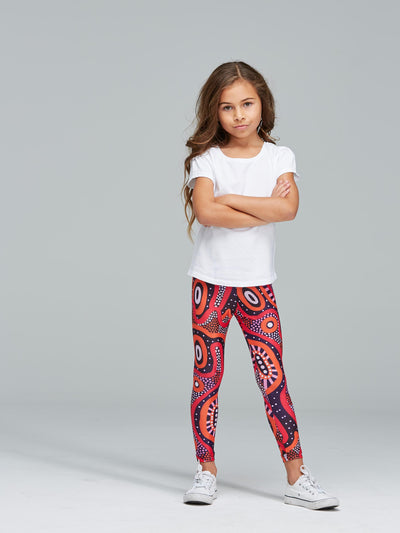 Central Voices kids' leggings
