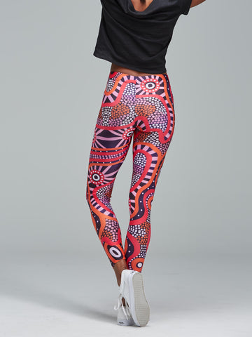 Central Voices leggings