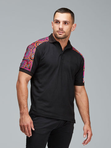 Central Voices cotton polo