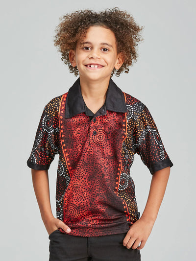 Dreamtime kids' polo