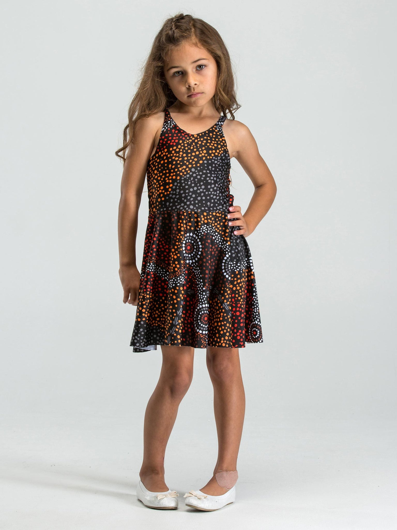 Dreamtime kids' skater dress