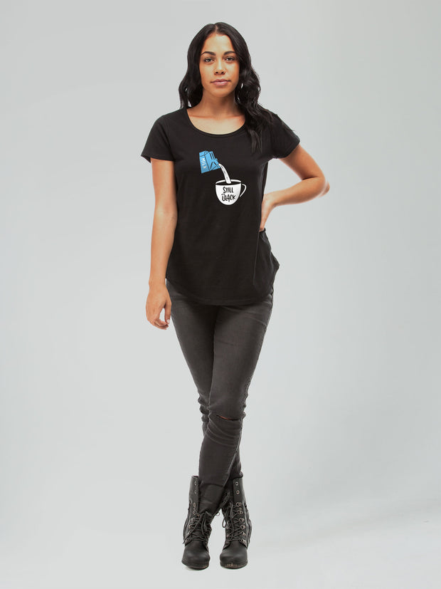 Still Black women's tee
