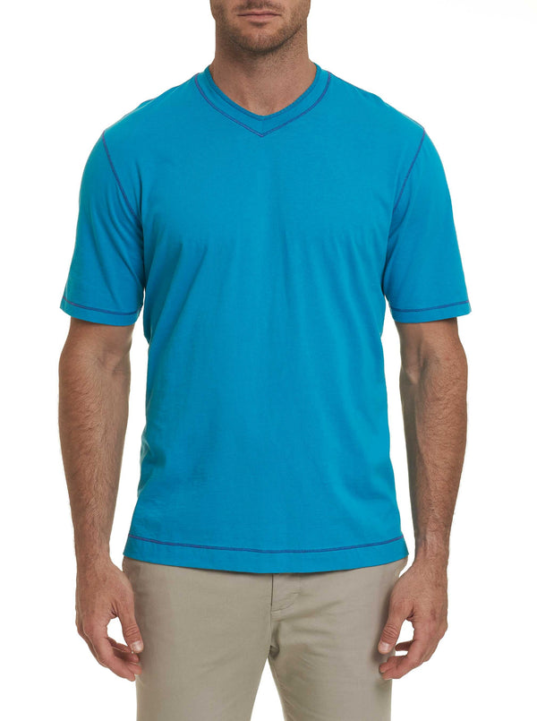 MAXFIELD TEE - Teal