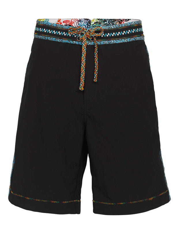 QUEEQUEG SOLID BOARD SHORTS
