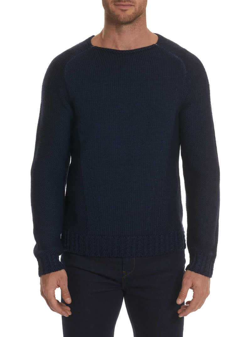 GREGORY CREW NECK SWEATER