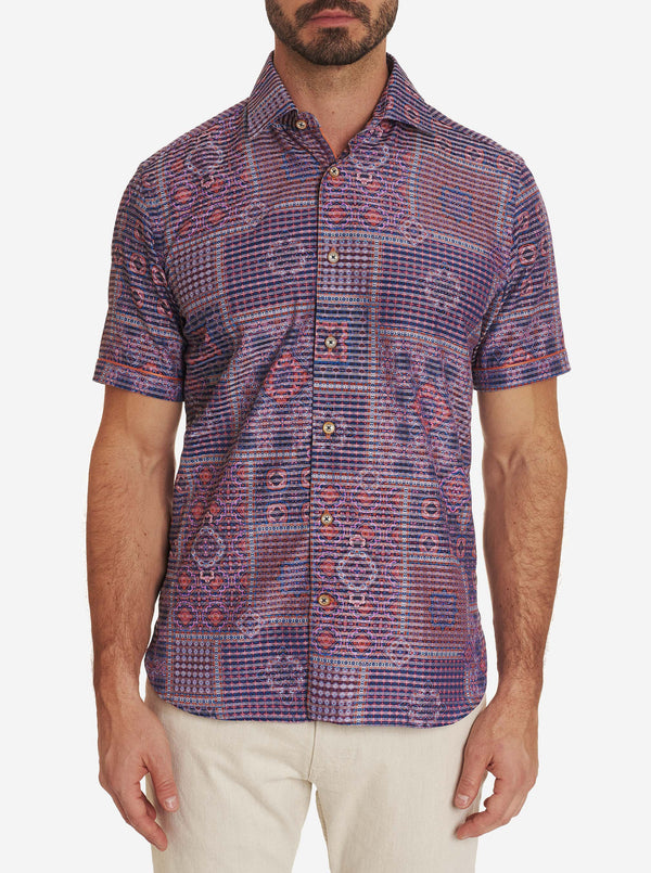 R COLLECTION ABRUZZO SHORT SLEEVE SHIRT