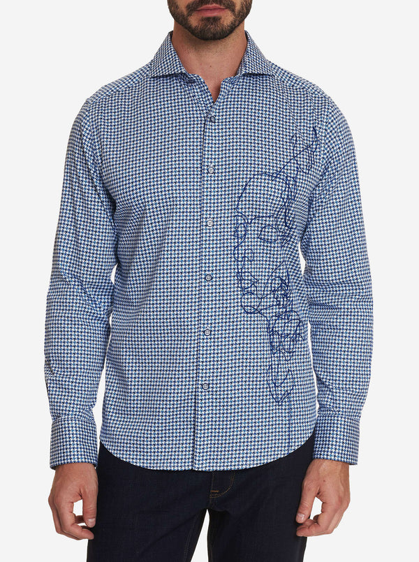 FACE OFF EMBROIDERED SPORT SHIRT
