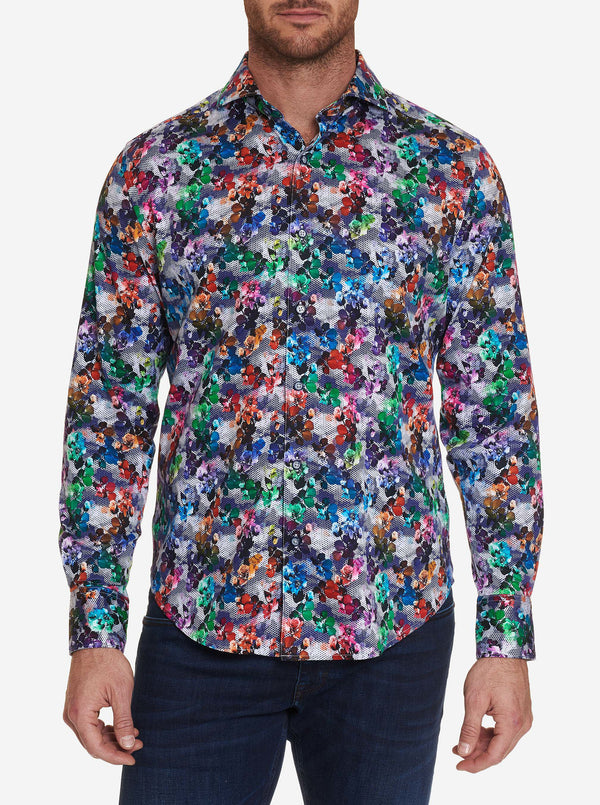 MIXED MEDIA SPORT SHIRT BIG