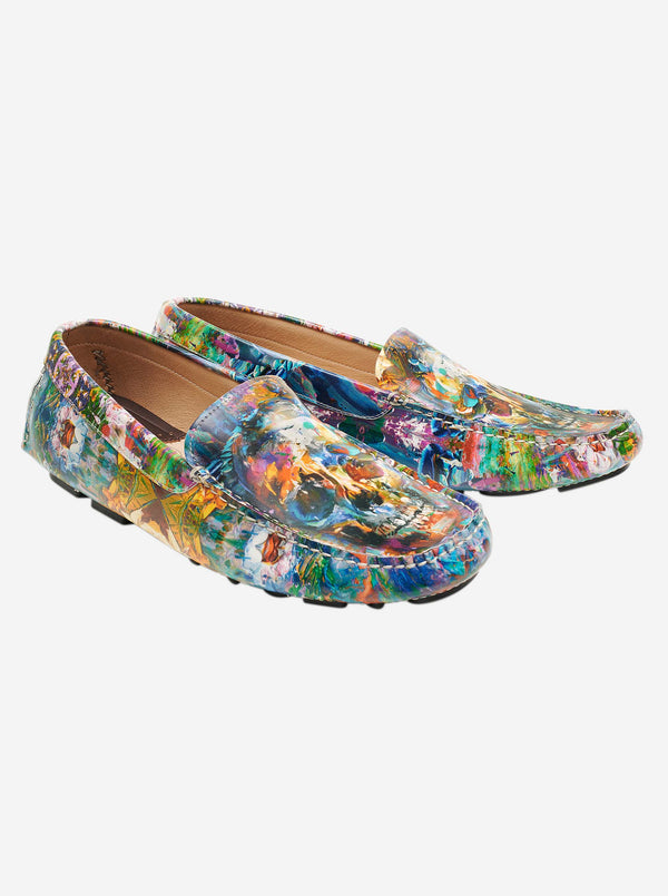 BRUSHWORK PRINTED LOAFER