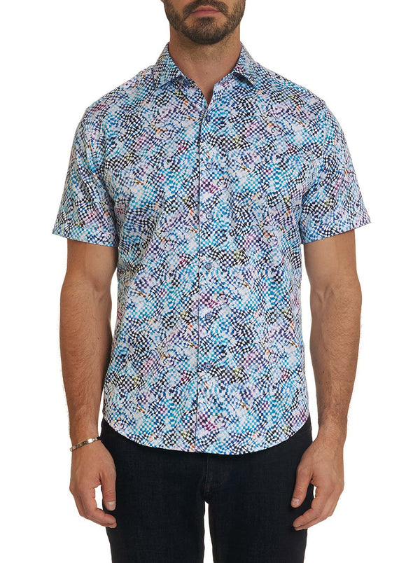 RACING CHECK SHORT SLEEVE SHIRT TALL